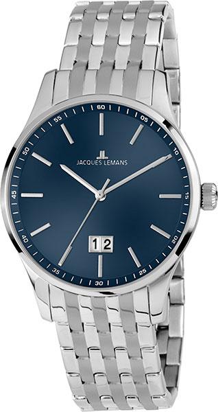 1-1862O  мужские кварцевые наручные часы Jacques Lemans  1-1862O
