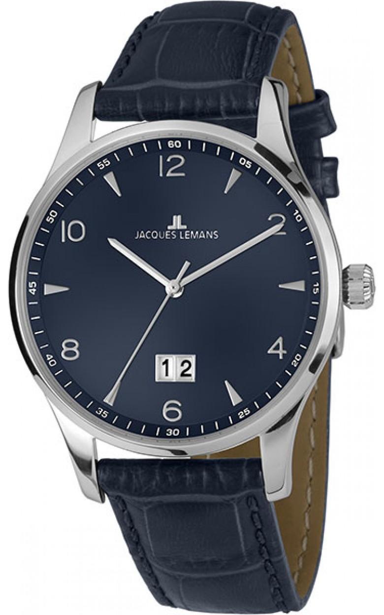 1-1862ZC  кварцевые наручные часы Jacques Lemans  1-1862ZC