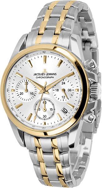 1-1863ZF  кварцевые наручные часы Jacques Lemans  1-1863ZF