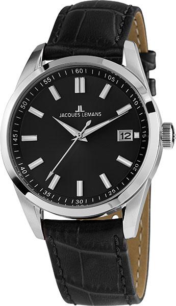 1-1868E  мужские кварцевые наручные часы Jacques Lemans  1-1868E