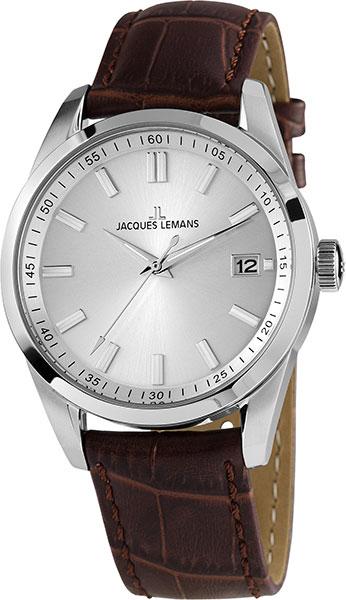 1-1868F  мужские кварцевые наручные часы Jacques Lemans  1-1868F