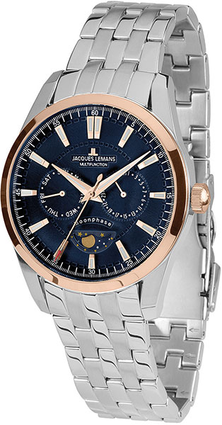 1-1901H  кварцевые наручные часы Jacques Lemans для мужчин  1-1901H