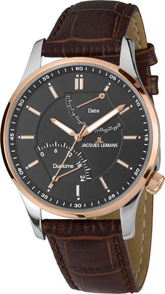 1-1902C  мужские кварцевые наручные часы Jacques Lemans  1-1902C