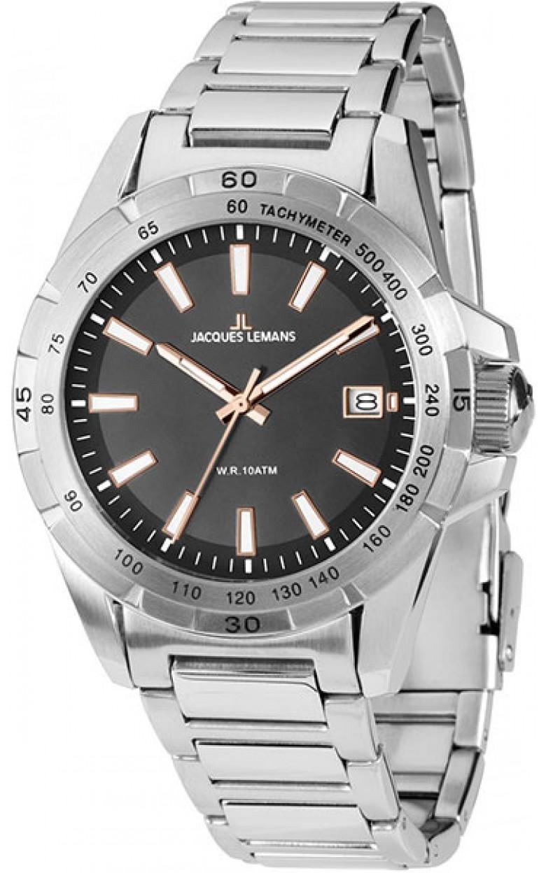 1-1903D  мужские кварцевые наручные часы Jacques Lemans  1-1903D