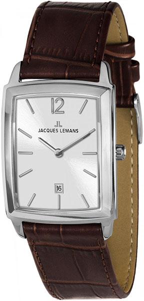 1-1904B  унисекс кварцевые наручные часы Jacques Lemans  1-1904B