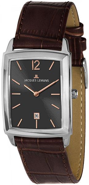 """1-1904C  кварцевые наручные часы Jacques Lemans """"Classic""""  1-1904C"""