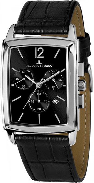 1-1906A  кварцевые наручные часы Jacques Lemans для мужчин  1-1906A
