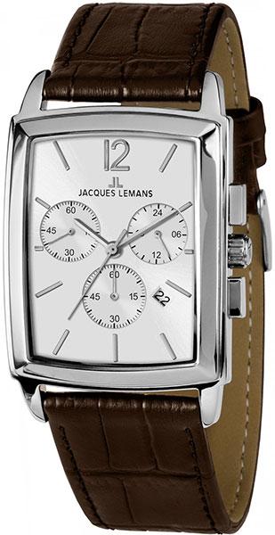 1-1906B  кварцевые наручные часы Jacques Lemans для мужчин  1-1906B