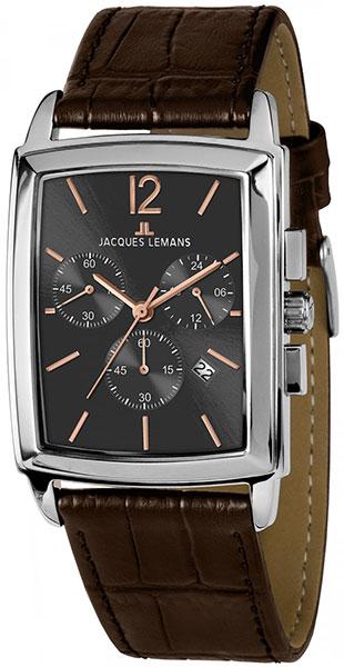 1-1906C  кварцевые наручные часы Jacques Lemans  1-1906C