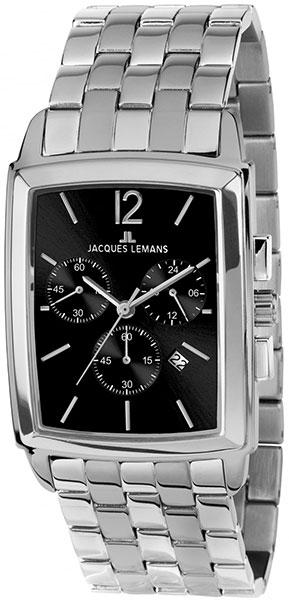 1-1906E  кварцевые наручные часы Jacques Lemans для мужчин  1-1906E