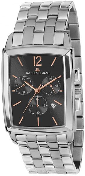 1-1906G  мужские кварцевые наручные часы Jacques Lemans  1-1906G