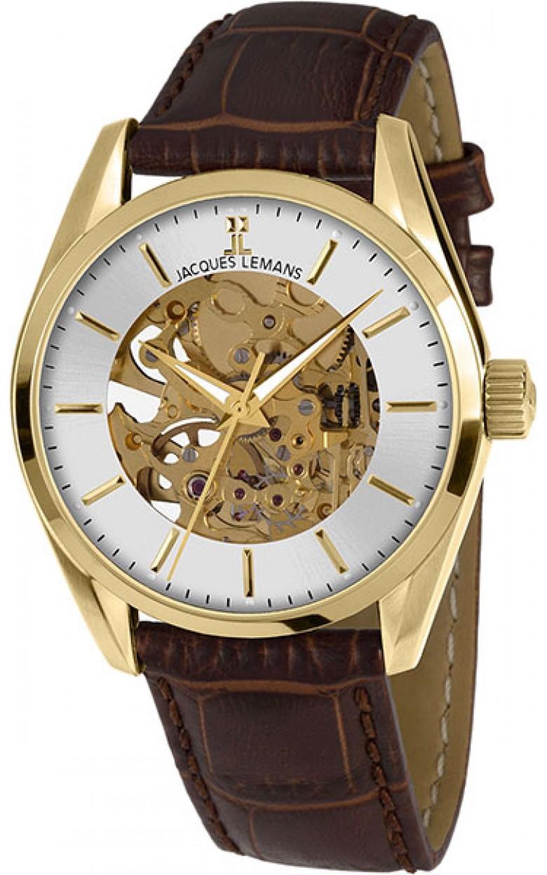 1-1909B  мужские механические часы Jacques Lemans  1-1909B