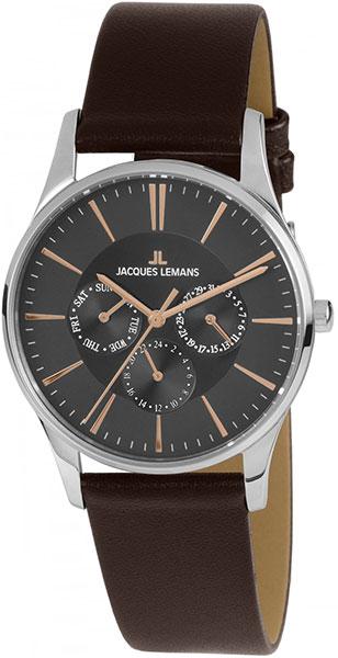"""1-1929E  кварцевые наручные часы Jacques Lemans """"Classic""""  1-1929E"""