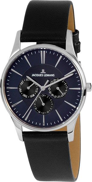 1-1929i  унисекс кварцевые наручные часы Jacques Lemans  1-1929i