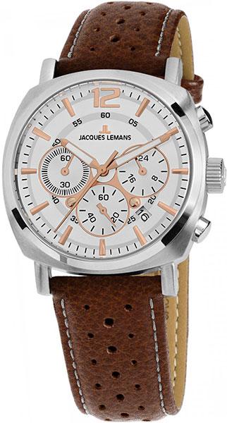 1-1931B  унисекс кварцевые наручные часы Jacques Lemans  1-1931B