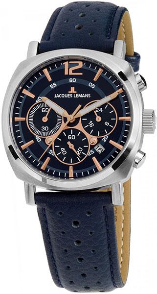 1-1931C  унисекс кварцевые наручные часы Jacques Lemans  1-1931C