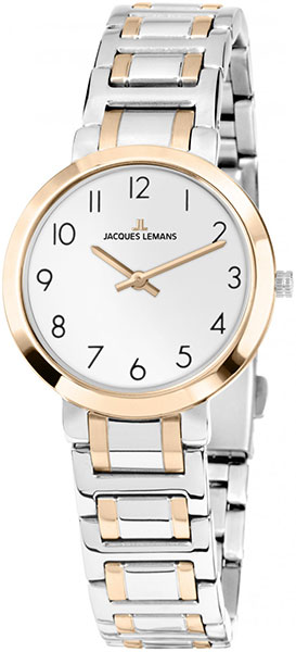 1-1932C  женские кварцевые наручные часы Jacques Lemans  1-1932C
