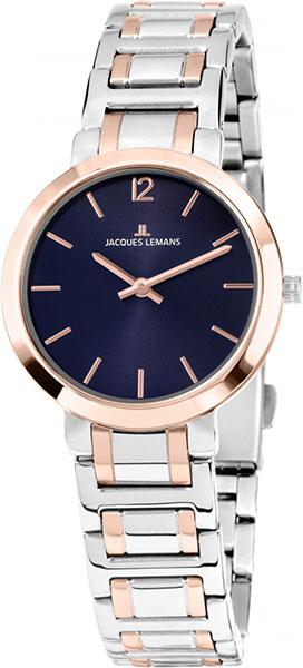 1-1932F  кварцевые наручные часы Jacques Lemans для женщин  1-1932F