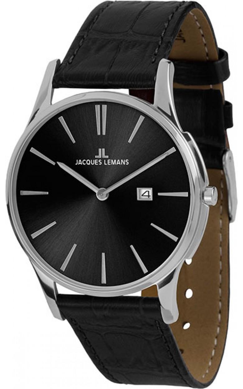 1-1936A  унисекс кварцевые наручные часы Jacques Lemans  1-1936A