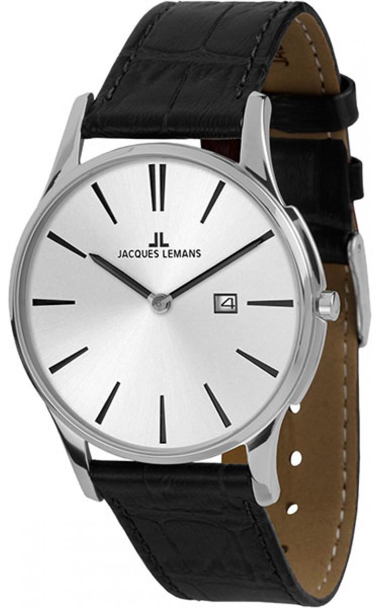 """1-1936B  кварцевые наручные часы Jacques Lemans """"Classic""""  1-1936B"""