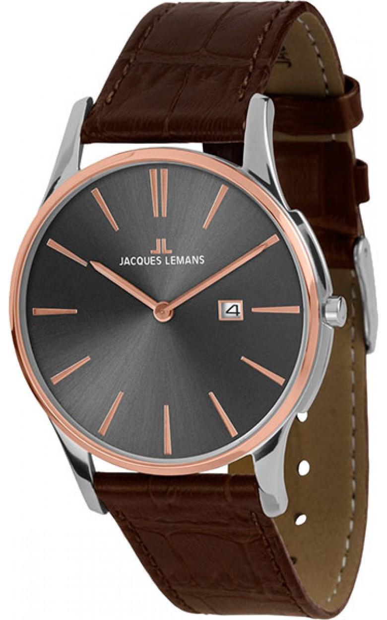 1-1936E  унисекс кварцевые наручные часы Jacques Lemans  1-1936E