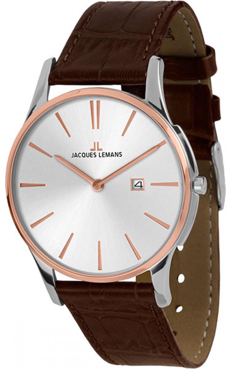 1-1936F  унисекс кварцевые наручные часы Jacques Lemans  1-1936F