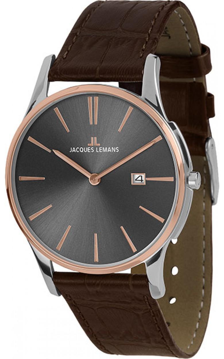 """1-1937E  кварцевые наручные часы Jacques Lemans """"Classic""""  1-1937E"""