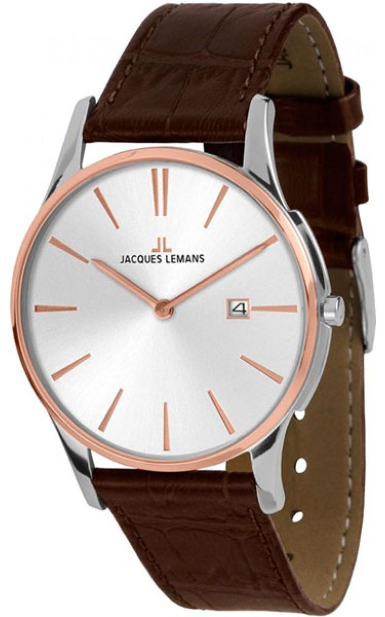 1-1937F  кварцевые наручные часы Jacques Lemans  1-1937F