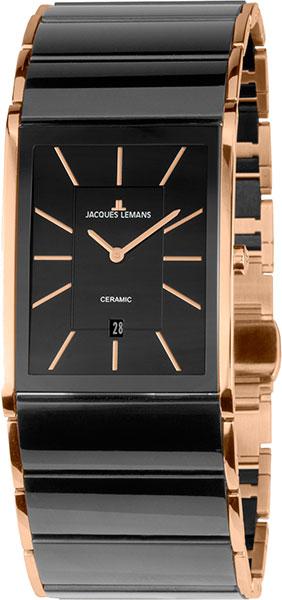 1-1939B  мужские кварцевые наручные часы Jacques Lemans с сапфировым стеклом 1-1939B