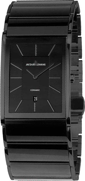 1-1939C  мужские кварцевые наручные часы Jacques Lemans с сапфировым стеклом 1-1939C