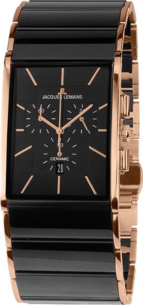 1-1941B  кварцевые наручные часы Jacques Lemans с сапфировым стеклом 1-1941B