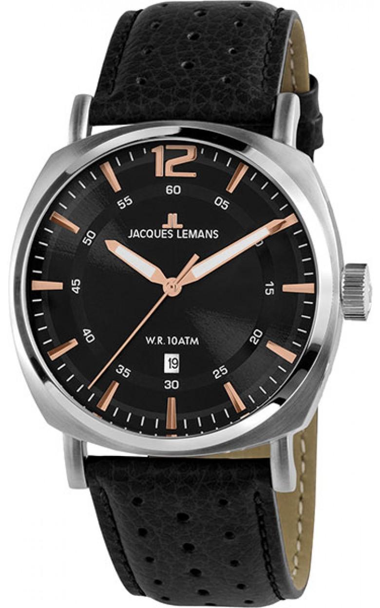 1-1943A  кварцевые наручные часы Jacques Lemans для мужчин  1-1943A