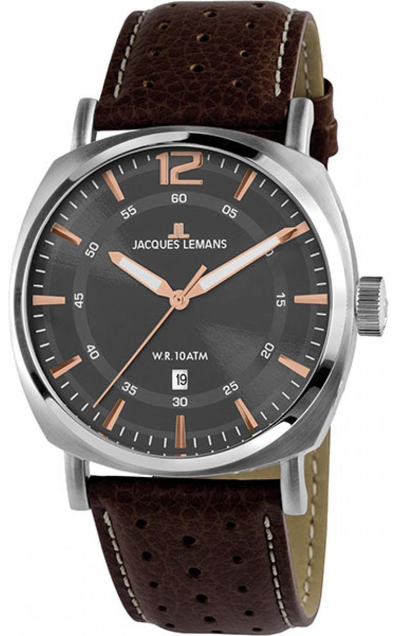 1-1943D  кварцевые наручные часы Jacques Lemans для мужчин  1-1943D