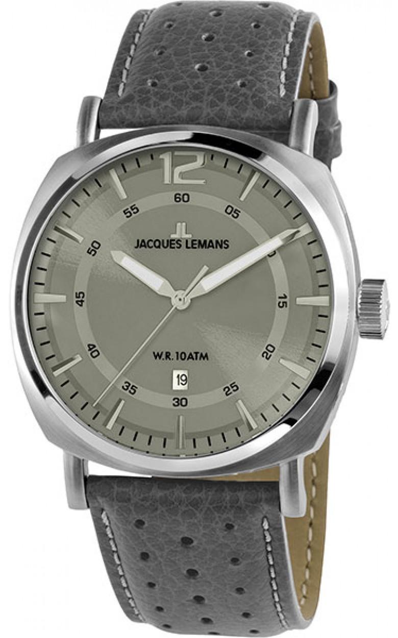 1-1943F  кварцевые наручные часы Jacques Lemans для мужчин  1-1943F