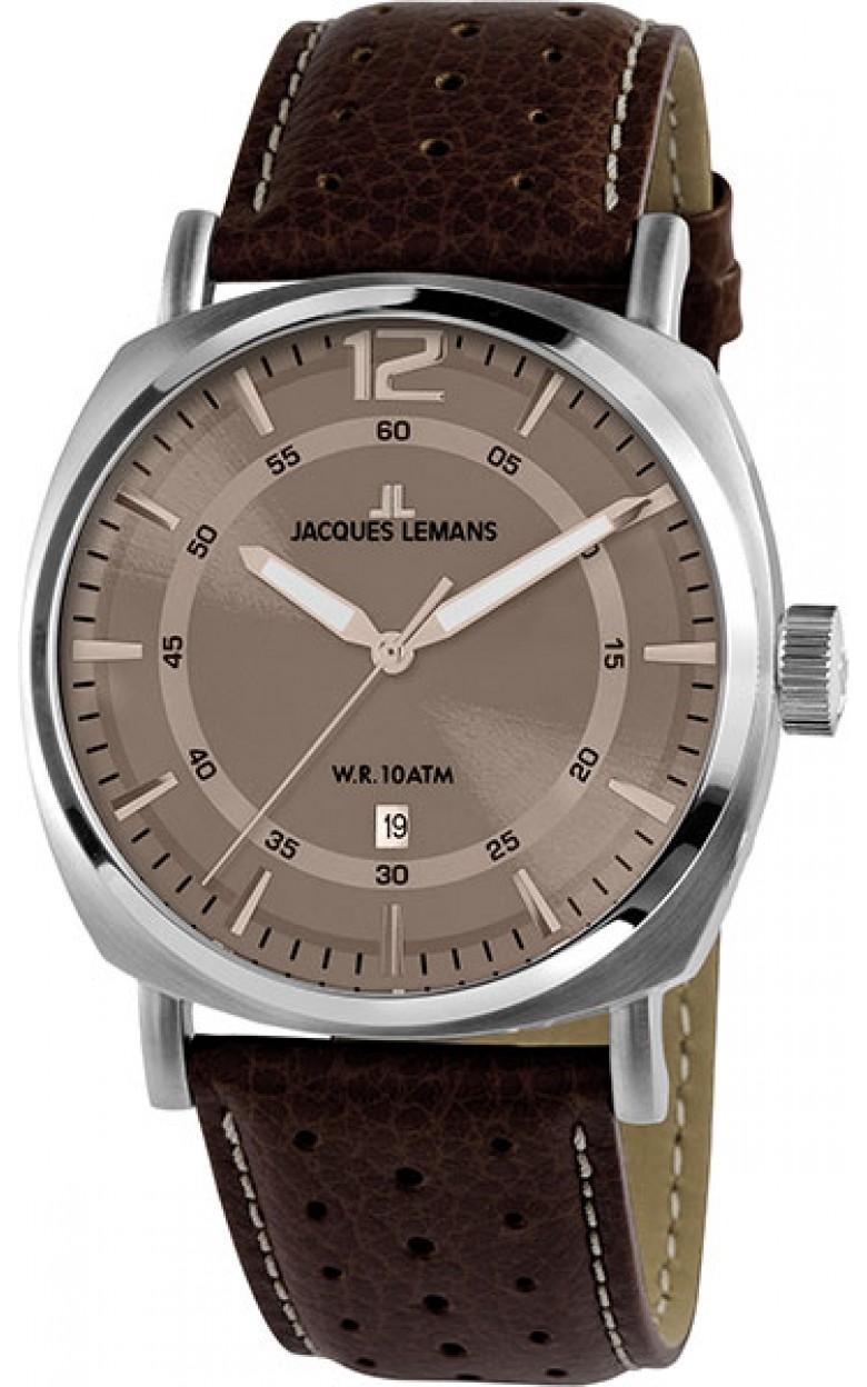 1-1943G  мужские кварцевые наручные часы Jacques Lemans  1-1943G