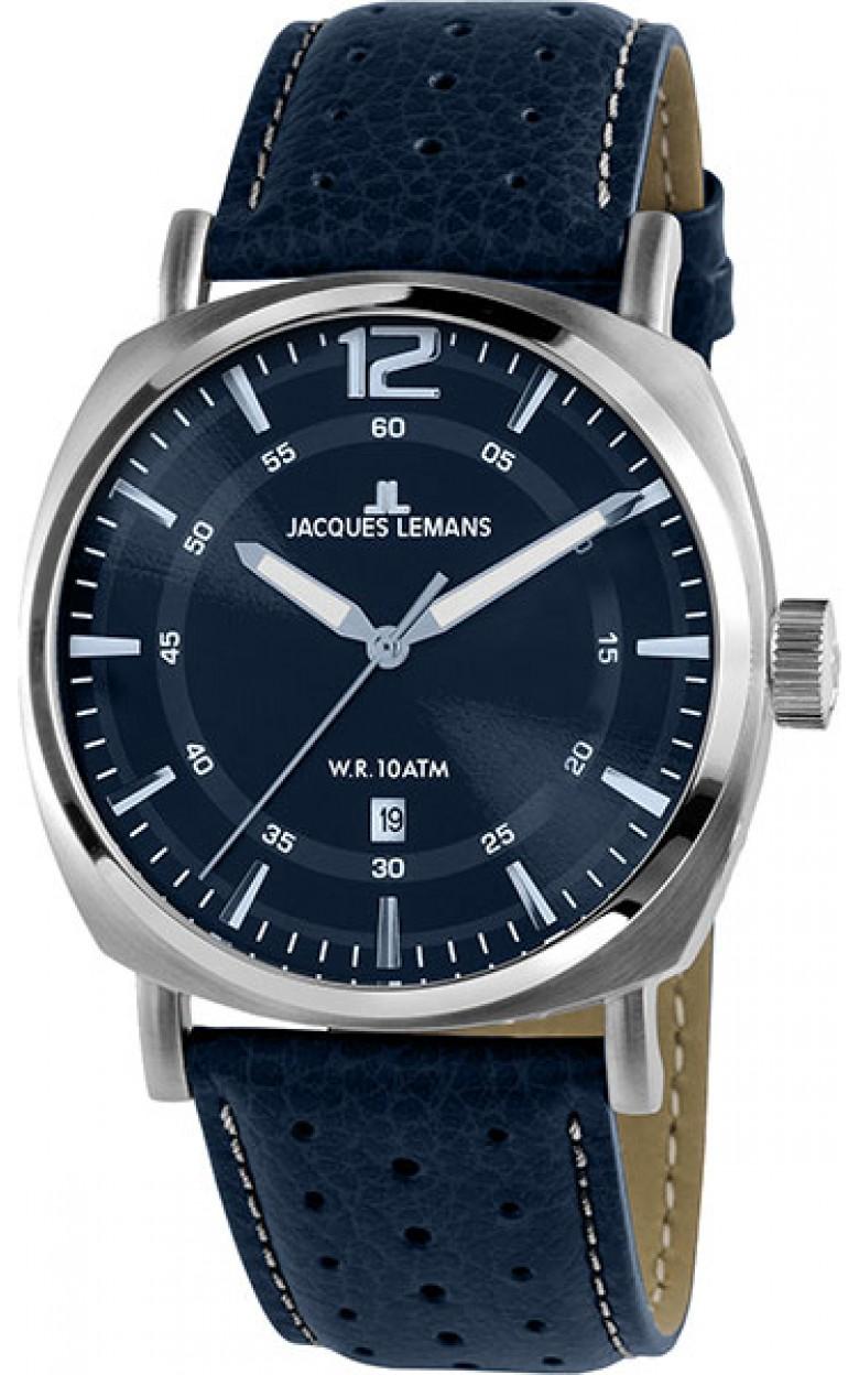 1-1943H  кварцевые наручные часы Jacques Lemans для мужчин  1-1943H