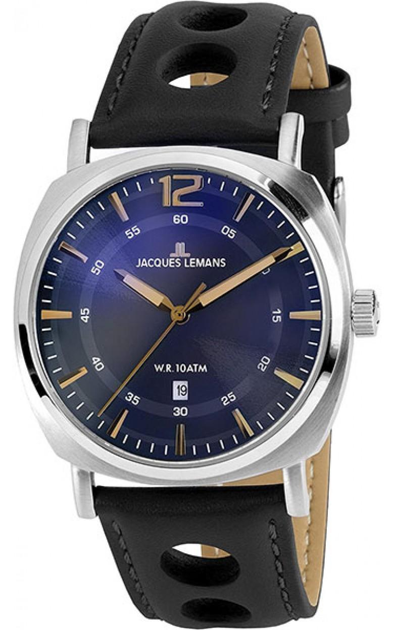 1-1943K  кварцевые наручные часы Jacques Lemans для мужчин  1-1943K