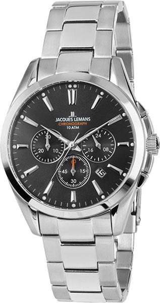 1-1945D  кварцевые наручные часы Jacques Lemans для мужчин  1-1945D