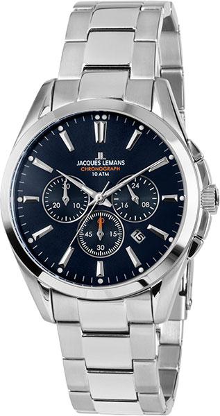 1-1945E  мужские кварцевые наручные часы Jacques Lemans  1-1945E