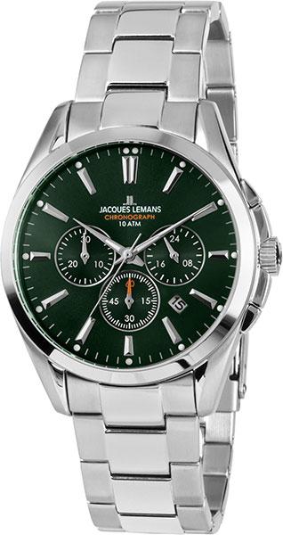 1-1945F  кварцевые наручные часы Jacques Lemans  1-1945F