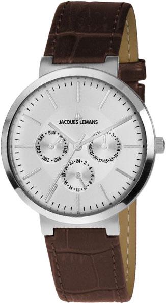 1-1950B  унисекс кварцевые наручные часы Jacques Lemans  1-1950B