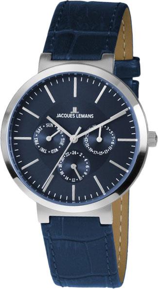 1-1950C  унисекс кварцевые наручные часы Jacques Lemans  1-1950C