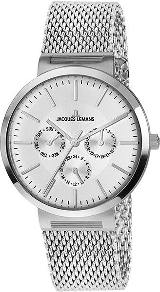 1-1950G  унисекс кварцевые наручные часы Jacques Lemans  1-1950G