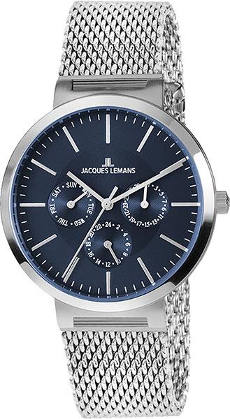 1-1950H  унисекс кварцевые наручные часы Jacques Lemans  1-1950H