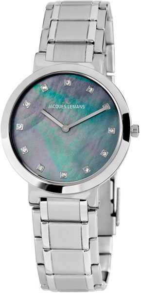 1-1998D  кварцевые часы Jacques Lemans  1-1998D