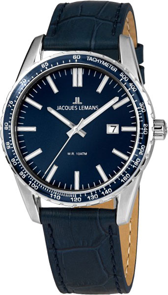 1-2022D  кварцевые наручные часы Jacques Lemans для мужчин  1-2022D