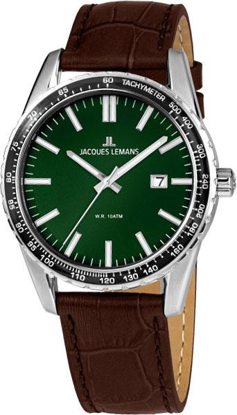 1-2022F  мужские кварцевые наручные часы Jacques Lemans  1-2022F