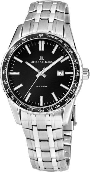 1-2022G  кварцевые наручные часы Jacques Lemans для мужчин  1-2022G