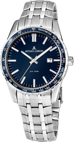 1-2022i  мужские кварцевые наручные часы Jacques Lemans  1-2022i