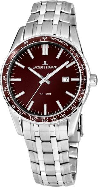 1-2022J  кварцевые наручные часы Jacques Lemans для мужчин  1-2022J